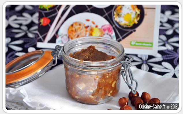 Recette bio p te tartiner maison la cacahu te et aux - Cuisine saine et gourmande ...