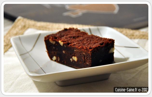 Recette sans gluten : brownies aux amandes