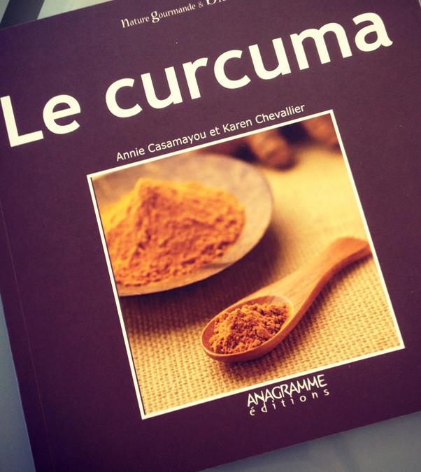 Livre de cuisine bio : le curcuma