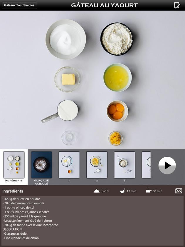 Blog Cuisine Bio Test Application Ipad Marabout Mon Cours De - Appli cuisine