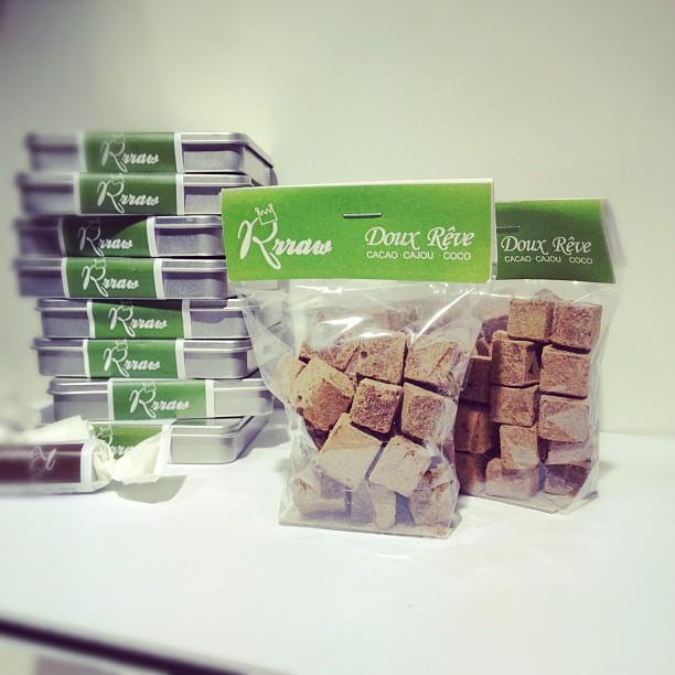 chocolat cru truffe