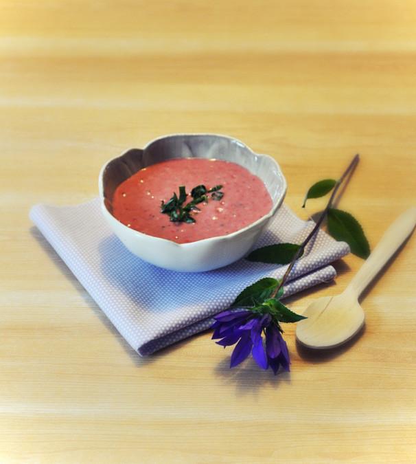 Recette bio : soupe de fraises