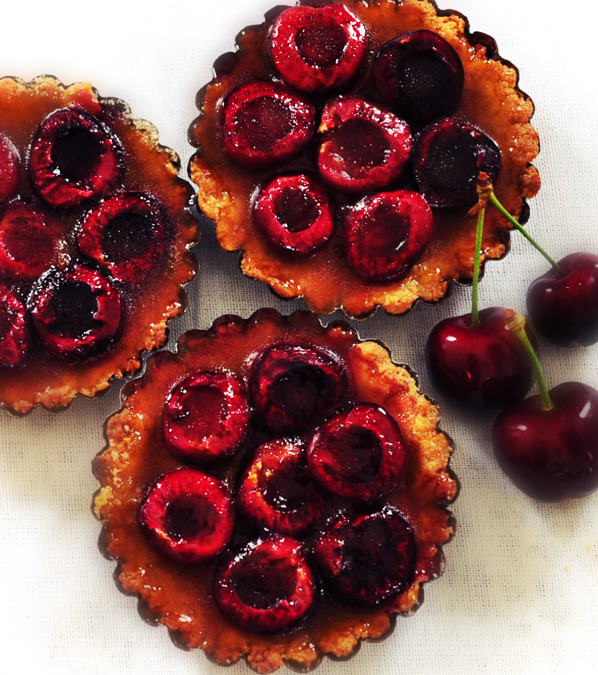 Recette bio : tartelettes aux cerises