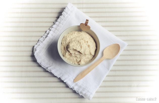 recette crue : houmous cru
