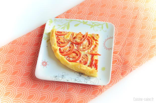 Recette bio : tarte à la tomate