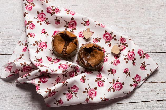 Recette sans gluten sans lait : coeur coulant au chocolat