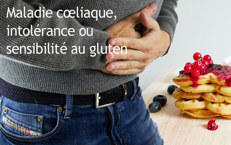 Maladie cœliaque, intolérance ou sensibilité au gluten