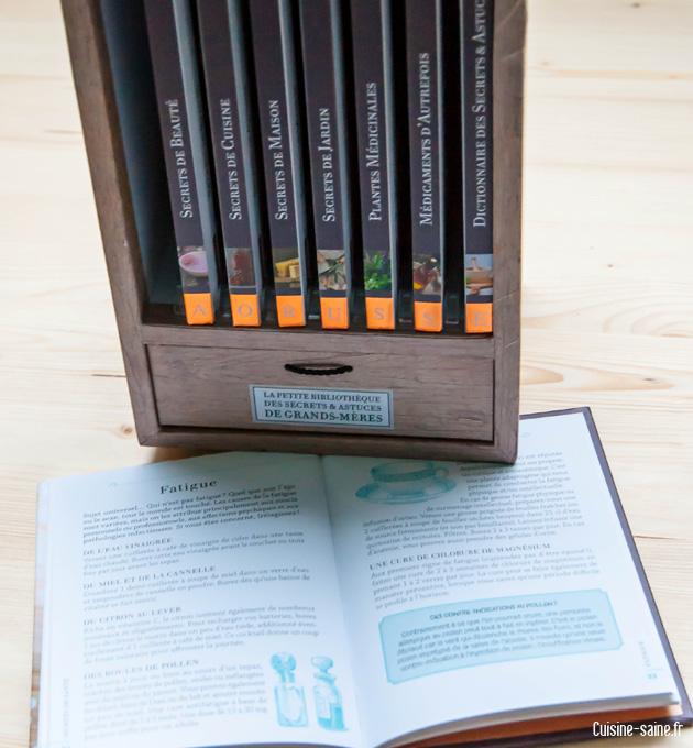 Gagnez la petite bibliothèque des secrets & astuces de grands-mères