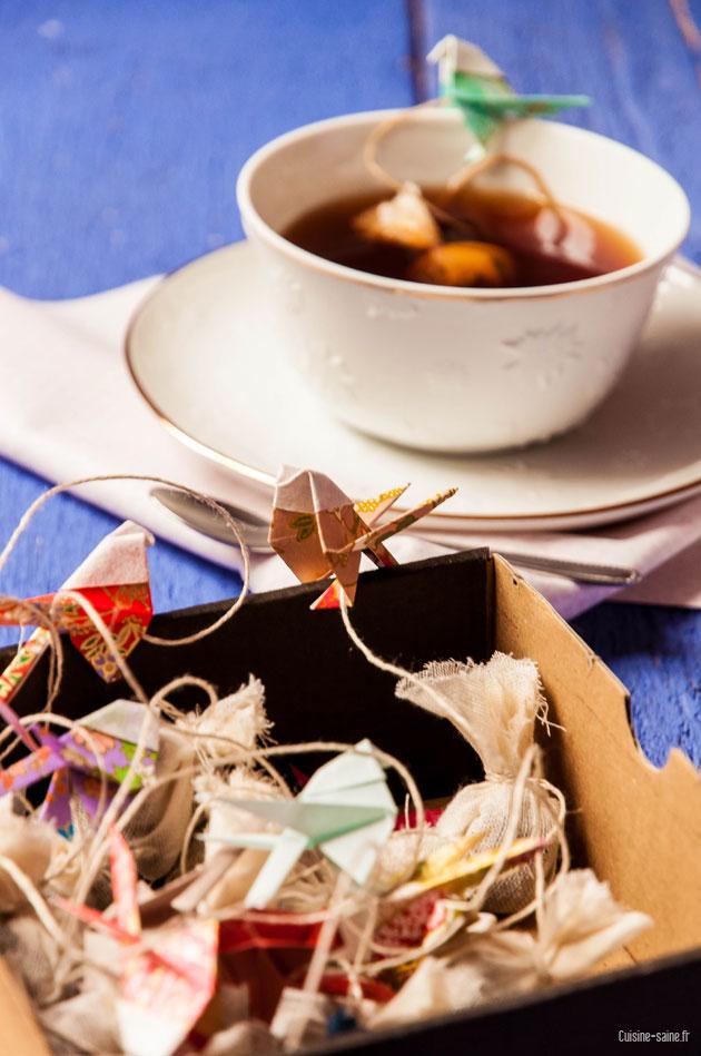 thé au chocolat