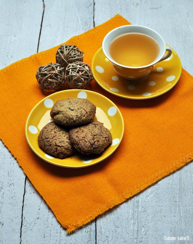 recette sans sucre sans uf sans gluten cookies au. Black Bedroom Furniture Sets. Home Design Ideas