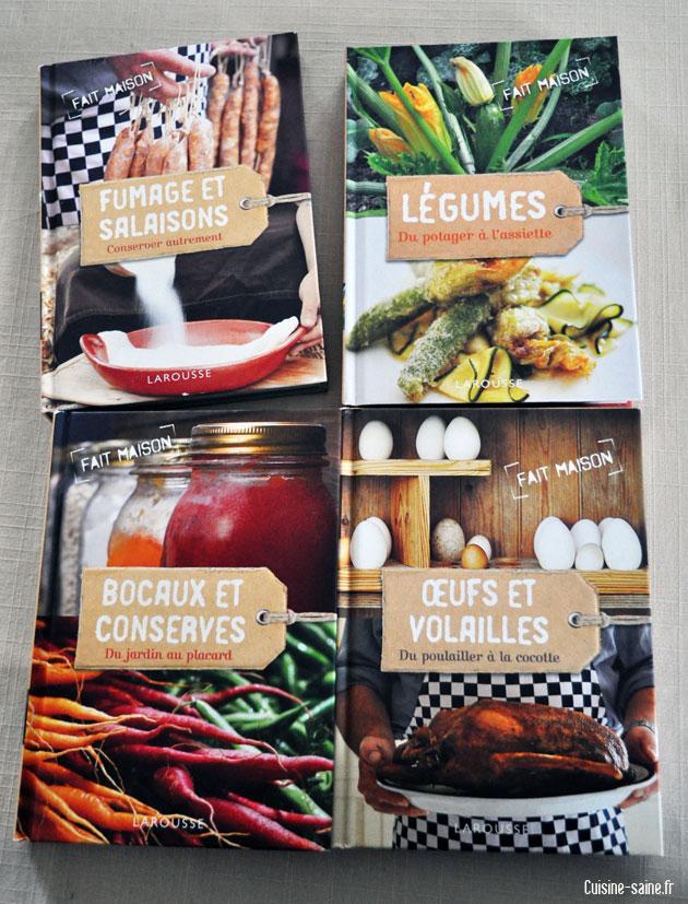Concours gagnez la nouvelle collection fait maison blog cuisine bio rec - Collection fait maison ...