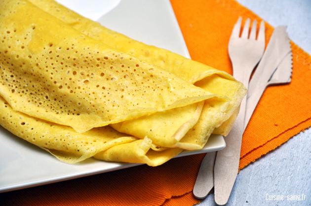 recette sans gluten : galette de maïs