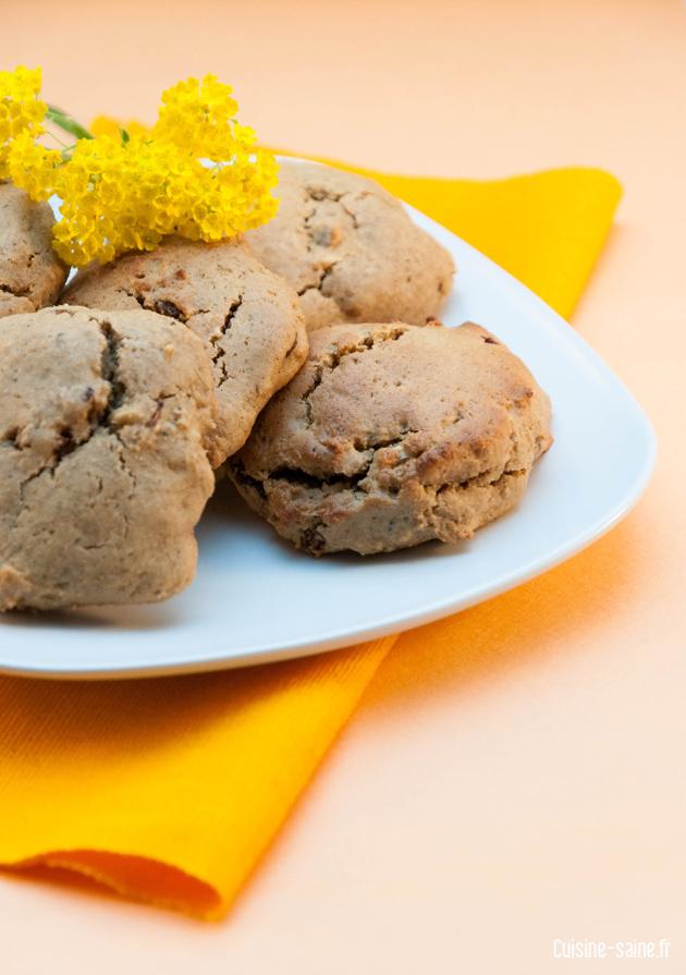 recette bio : biscuit raisin / noix de cajou