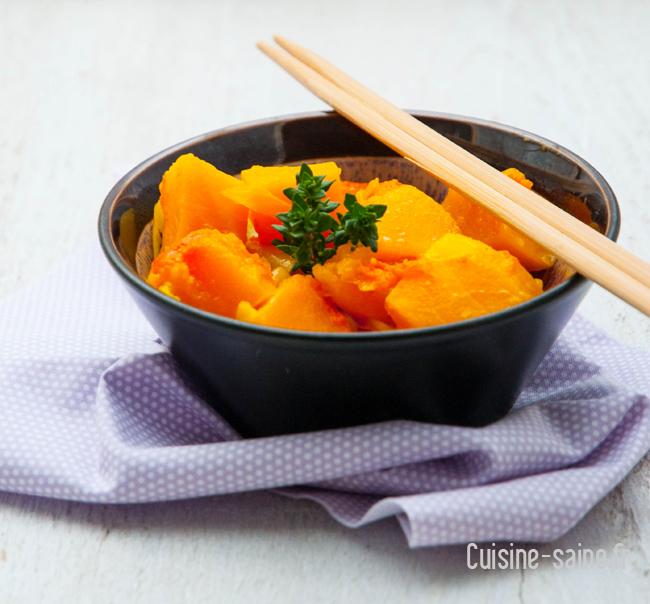 wok courge butternut