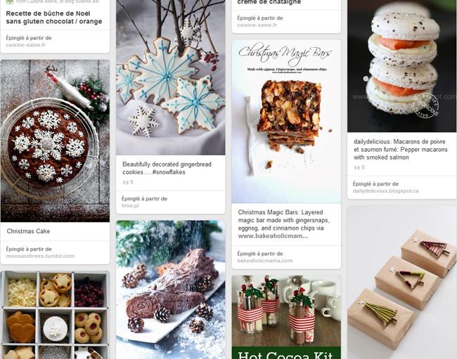 No l sur pinterest blog cuisine bio recettes bio sans for Pinterest cuisine noel