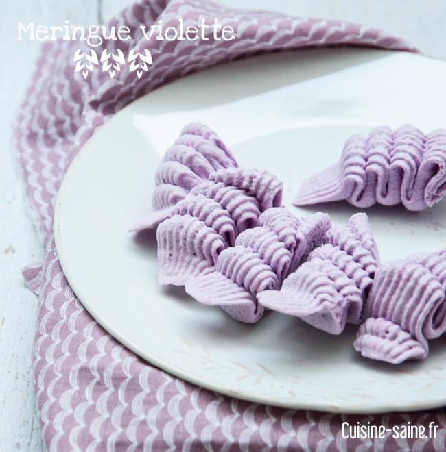 meringue violette