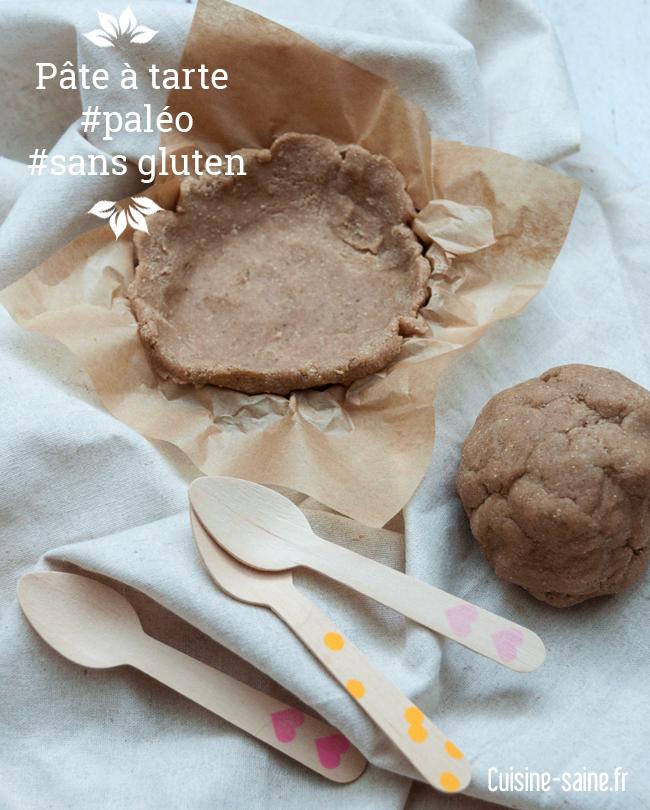 Pâte à tarte paléo sans gluten