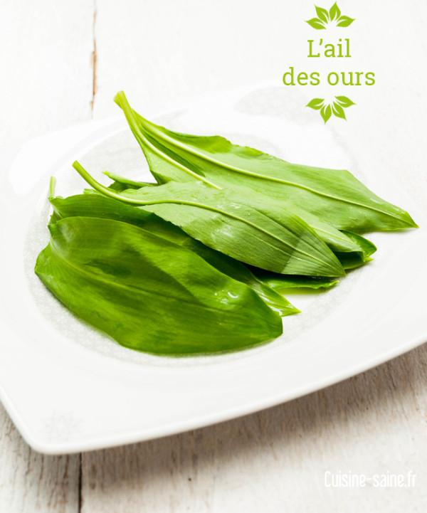 Vie saine healthy archives cuisine saine for Ail sauvage cuisine