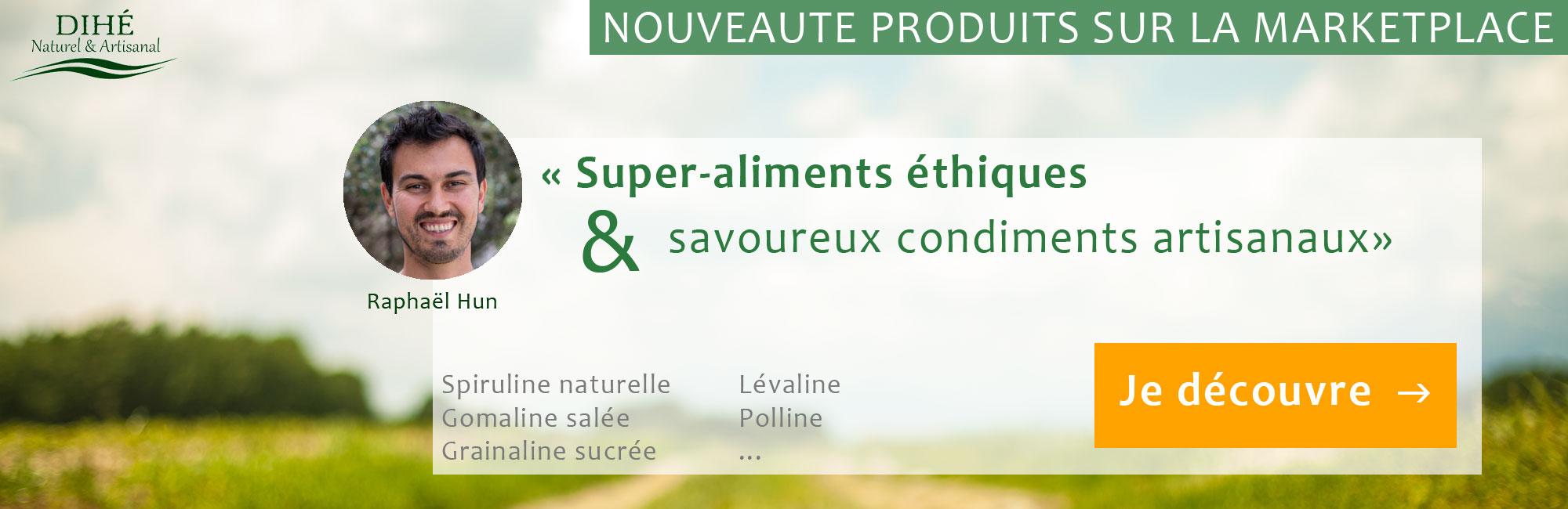 Dihe : super-aliments éthiques et savoureux condiments artisanaux