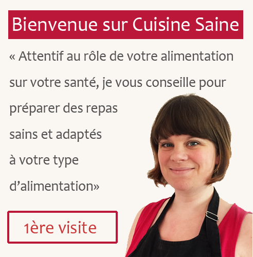 Bienvenue sur Cuisine Saine. Attentif au rôle de votre alimentation sur votre santé, je vous conseille pour préparer des repas sains et adaptés à votre type d'alimentation.