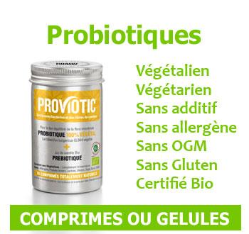probiotiques vegan sans gluten