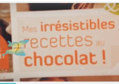 Mes irrésistibles recettes au chocolat – Marie Chioca