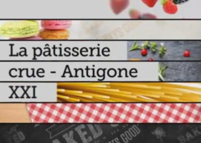 La pâtisserie crue – Antigone XXI