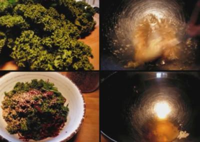 Comment faire une salade de chou kale