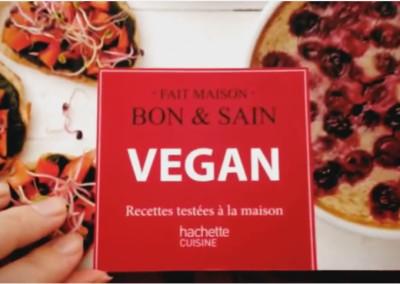 Mon dernier livre : Vegan – Recettes testées à la maison