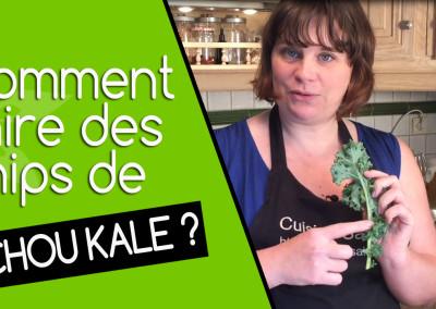 Comment faire des chips de chou kale ?
