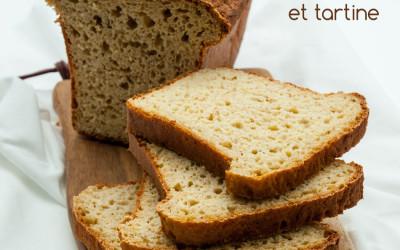 Pain sans gluten spécial sandwich et tartine