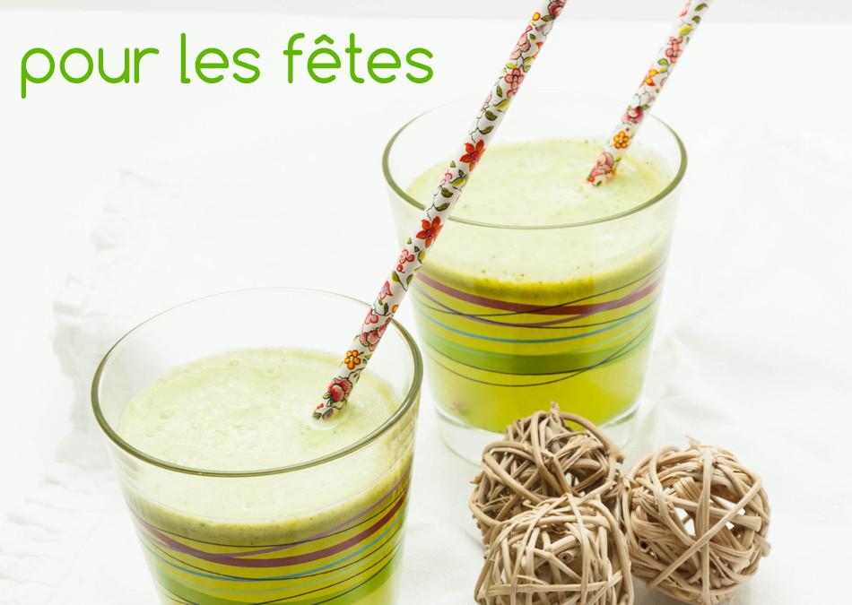 Cocktail sans alcool, sans sucre pour les fêtes – Virgin mojito à l'extracteur de jus