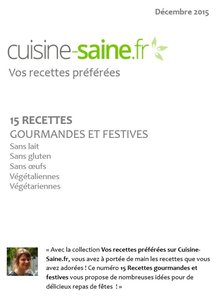 E-book de recettes spéciales Noël
