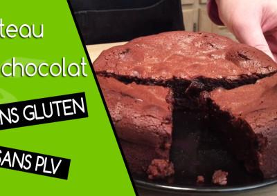 Vidéo de la recette de gâteau au chocolat sans gluten sans PLV