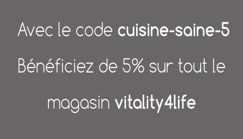 code promo vitality4life