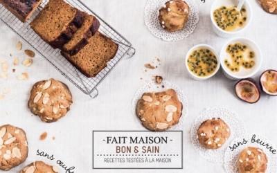 7ème livre de cuisine « Pâtisserie autrement »