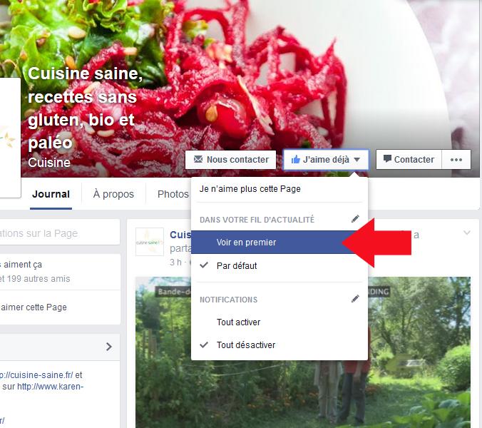 Comment voir mes dernières publications sur facebook ?