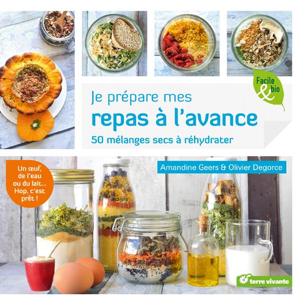 Livres de cuisine ♥ Je prépare mes repas à l'avance