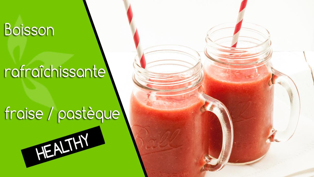 Boisson Rafraichissante : boisson rafra chissante fraise past que blog cuisine ~ Nature-et-papiers.com Idées de Décoration