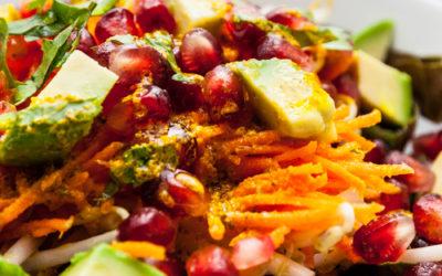 Salade exotique – Les assaisonnettes