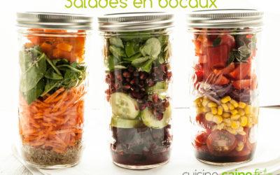 Salade en bocal ou salad jar