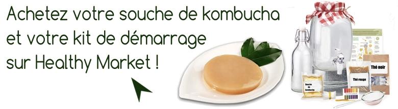acheter une souche de kombucha