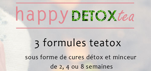 Acheter Happy detox tea sur Cuisine-saine