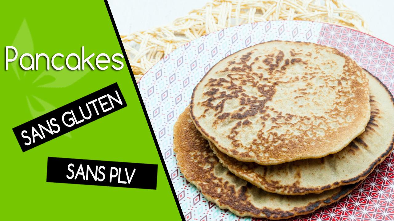 pancake sans gluten ni produits laitiers au blender. Black Bedroom Furniture Sets. Home Design Ideas