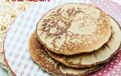 Pancake sans gluten ni produits laitiers au blender