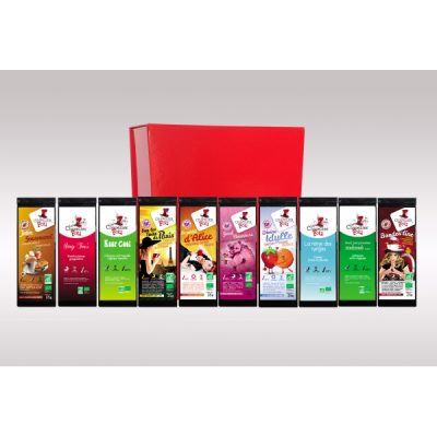 Coffret assortiment infusions (sans théine)