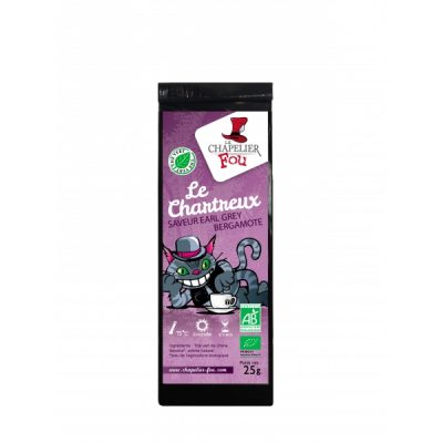 Le Chartreux - Thé vert Earl grey bergamote bio - 25g vrac
