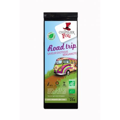 Road trip - Thé vert exotique bergamote bio - vrac 25 g