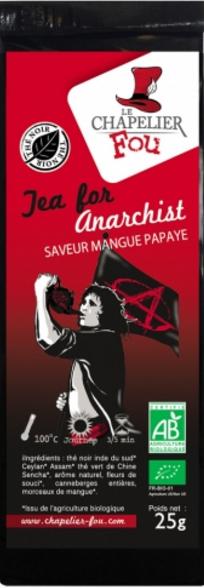 Thé noir tea for anarchist 25g