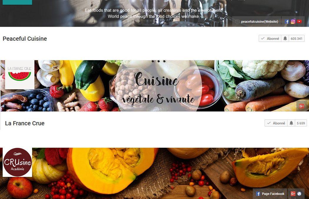 Mes 5 chaînes youtube cuisine préférées